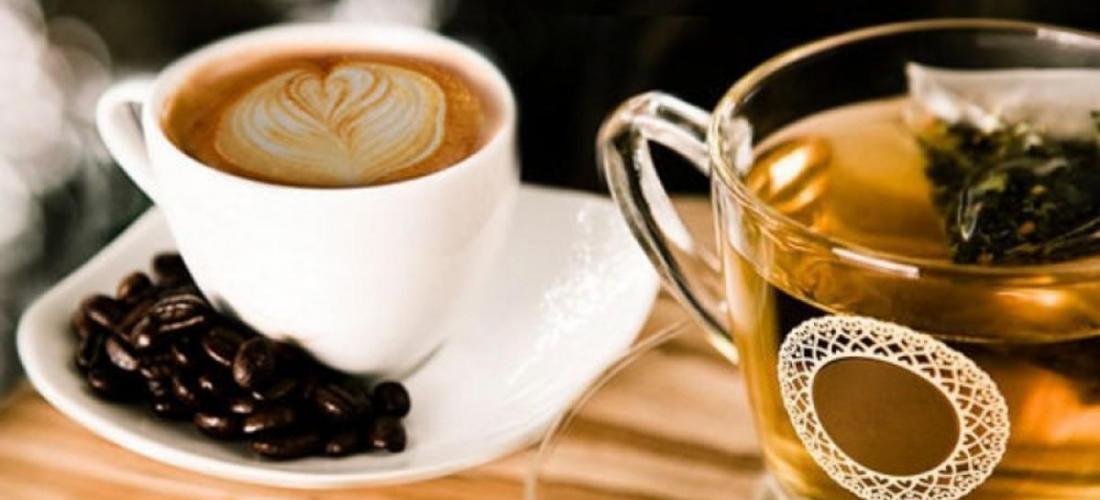 фото чая-кофе